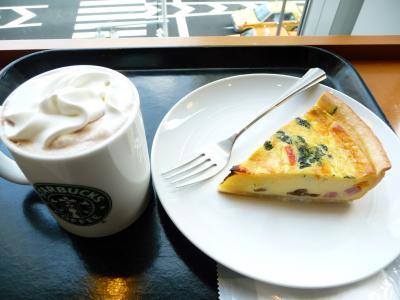 2010.2.19-東京ぶらりひとり旅009スタバでの朝食