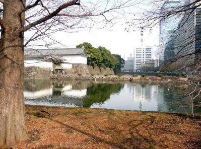 2010.2.19-東京ぶらりひとり旅027桔梗濠(大手高麗門)01