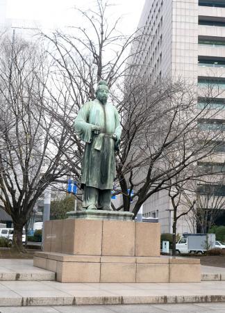 2010.2.19-東京ぶらりひとり旅028和気清麻呂像02