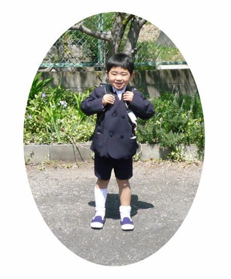 小学校の入学式2010-1