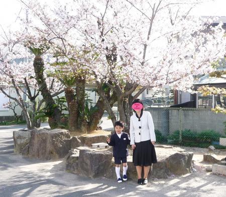 小学校の入学式2010-2