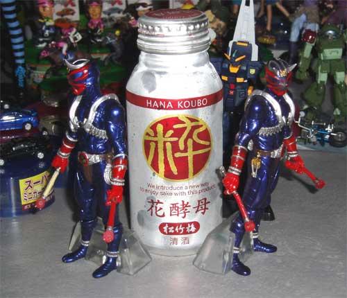 鬼と日本酒の組み合わせ