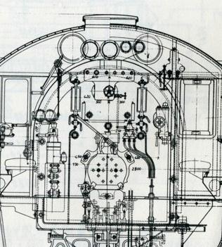 D51運転台3