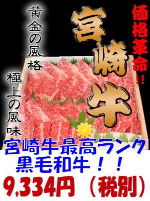 宮崎牛焼き肉用バラ500g