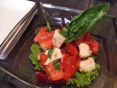 銀座 AG  トマトのサラダ