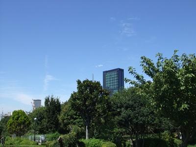 西郷山公園からの景色1