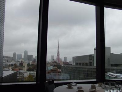 六本木ヒルズ Roy's Tokyo Bar&Grill(ロイズトウキョウ バーアンドグリル) 景色