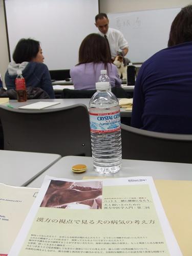 橋本先生講義中