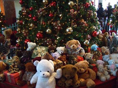 ウエスティンホテルのクリスマス アップ