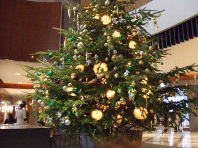 セルリアンホテルのクリスマス