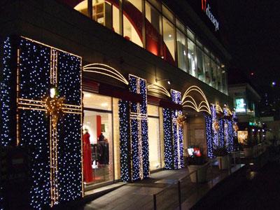 代官山アドレスのクリスマス
