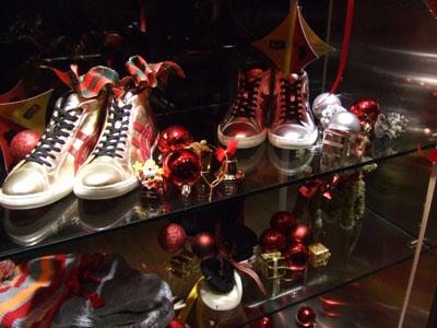 オニツカタイガーのクリスマス