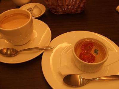 Celeb de Tomato(セレブ・デ・トマト) デザートとコーヒー