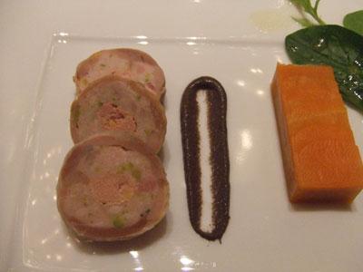 麹町 フランス料理 ARGO ホロホロ鶏