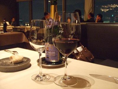 麹町 フランス料理 ARGO 赤ワイン