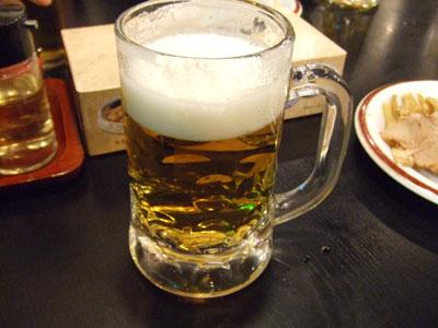 幸楽苑 六本木店  ビールで乾杯