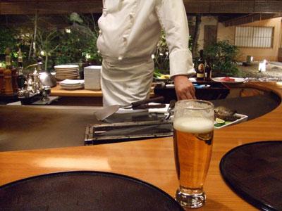 日航ホテル東京 鉄板焼き 銀杏