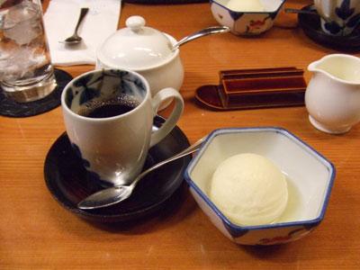 日航ホテル東京の鉄板焼き「銀杏」 スイーツ