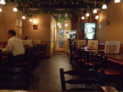 ベトナム料理 ホァングン  渋谷文化村通り店 店内