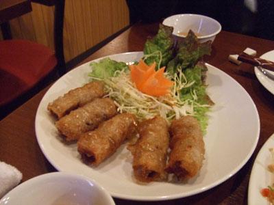 ベトナム料理 ホァングン  渋谷文化村通り店 揚げ春巻き