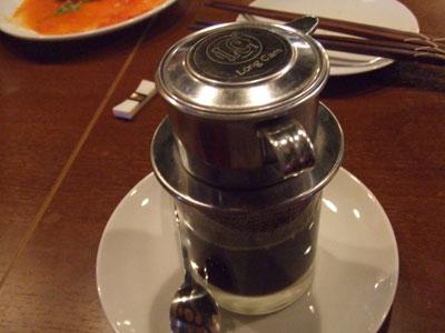ベトナム料理 ホァングン  渋谷文化村通り店 ベトナムコーヒー