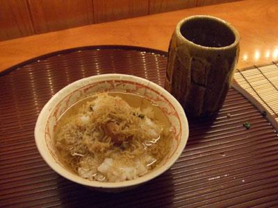 旬風URARA (しゅんぷううらら) お茶漬け
