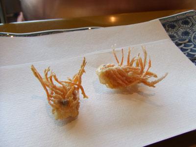 日航ホテル東京 天ぷら 吉野 海老頭