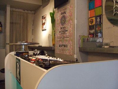 渋谷 Rhythm Cafe (リズムカフェ) 店内