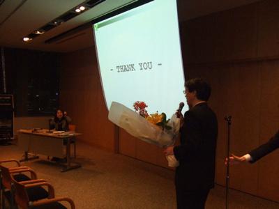 北高32回卒加藤淳子さんの講演会