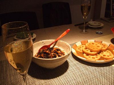 シャンパンで乾杯~