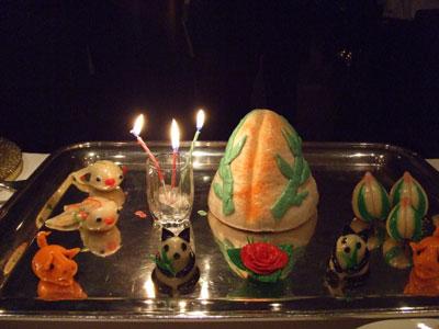 重慶飯店 麻布賓館 お誕生日おめでとう!