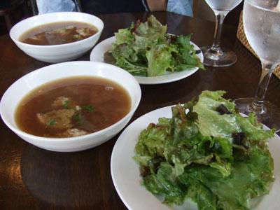 Le petit restaurant epi (レストラン エピ) サラダ スープ