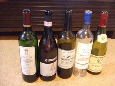今宵のワインたち