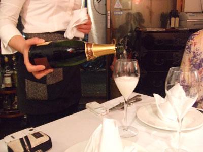 Osteria Giapponese(オステリアジャポネーゼ) シャンパン
