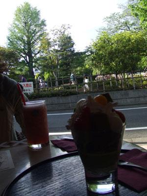 U-ber Life cafe (アーバンライフカフェ) テラス席