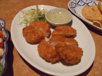 六本木 アジア料理店 AngTong(アントン) 海老すり身揚げ