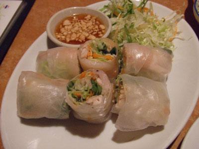 六本木 アジア料理店 AngTong(アントン) 生春巻き