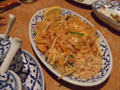 六本木 アジア料理店 AngTong(アントン) パッタイ