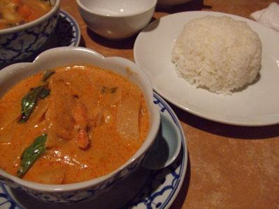 六本木 アジア料理店 AngTong(アントン) レッドカレー
