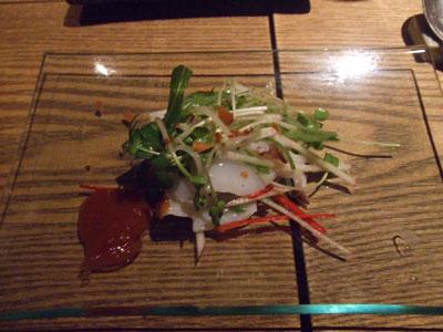 李南河(LINAMHA) タコのサラダ