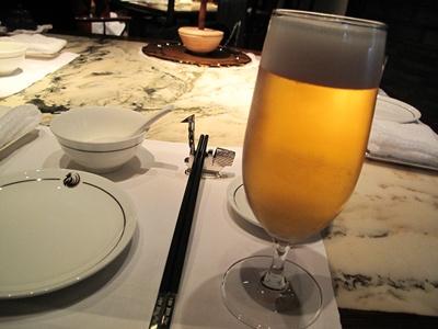 ザ・ペニンシュラ東京 「ヘイフンテラス」 ビール