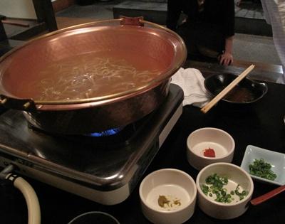 鶏鍋と石焼鶏 はし田屋 中目黒店 ちゃんぽん麺投入