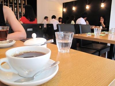 HYBRID TRATTORIA CUJORL (ハイブリッド トラットリア クヨール) コーヒー