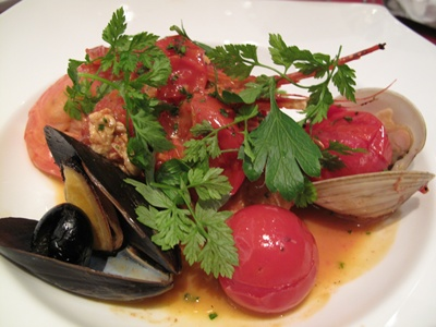 Celeb de Tomato(セレブ・デ・トマト)完熟トマトと鮮魚のアクアパッツア