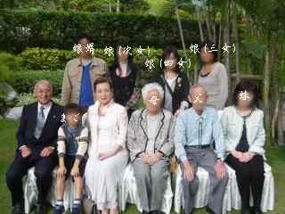 家族写真(4世代)