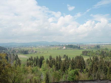 城からの眺め
