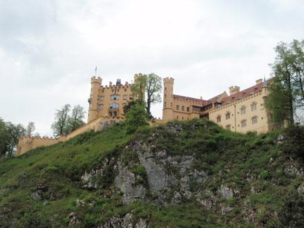 ホーエンシュヴァンガウ城 全体