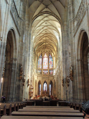 聖ヴィート大聖堂 中