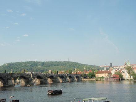 カレル橋の眺め