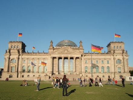 ベルリン 国会議事堂